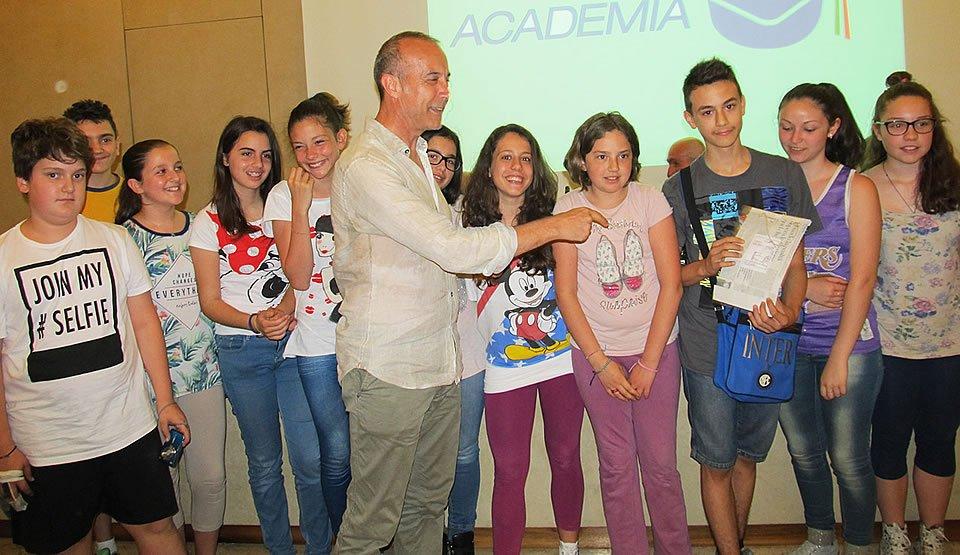 assegnazione premio Cronisti in Classe